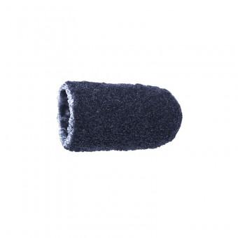 Vienkartiniai pedikiūro antgaliai, korundas-juodas, švelnus 5 mm, 10 vnt.