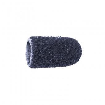 Vienkartiniai pedikiūro antgaliai, korundas-juodas, grubus 5 mm, 10 vnt.