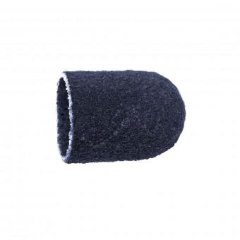 Vienkartiniai pedikiūro antgaliai, korundas-juodas, švelnus 10 mm, 10 vnt.