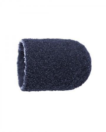 Vienkartiniai pedikiūro antgaliai, korundas-juodas, vidutinis 10 mm, 10 vnt.